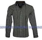 English Heroes by Rock Roll n Soul EHW117B L/S Button Down Woven Shirt for Men