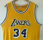 Shaquille O'Neal Los Angeles Lakers Mitchell & Ness Throwback Stitched Jersey on eBay