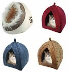 Pet Igloo Luxury Bed house for Cats Dogs Comfy