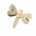 3D Glitter Dragonfly Vinyl Hair Bow