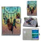 For Samsung Galaxy Tablet 3 Lite 4 A E S2 S3 Cute Pattern Flip Stand Case Cover