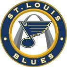 "St. Louis Blues NHL Vinyl Decal - You Choose Size 2""-28"" $4.99 USD on eBay"