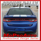 2015 Dodge Dart Racing Rally Stripes Trunk Vinyl Decals Graphics 3M WX1 $149.99 USD on eBay