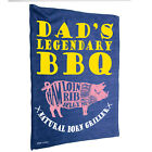 Kitchen Cooking Tea Towels - Dads Bbq - Cooking Cleaning Christmas