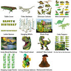 DINOSAUR PREHISTORIC JURASSIC THEME DECORATIONS - PARTYWARE COMPLETE SELECTION