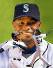 Ken Griffey Jr Seattle Mariners MLB Baseball Stadium Art Print 11x14-48x36