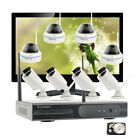 1080P CCTV Wireless Security Camera System with Hard Drive & 21.5