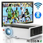 Android WiFi Bluetooth Home Theater Projector Party Movie Game HDMI VGA USB HD