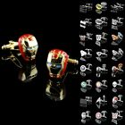 Mens Superhero Novelty Star Trek Ironman Wedding Party Gift Prom Shirt Cufflinks on eBay