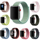 Sport Loop Band Nylon Strap For Apple Watch Series 5 4 3 2 1 42mm 38mm 44mm 40mm image