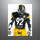 James Harrison Pittsburgh Steelers Poster FREE US SHIPPING $14.99 USD on eBay