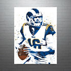 Jared Goff Los Angeles Rams Poster FREE US SHIPPING $15.0 USD on eBay