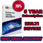 Bitdefender Total Security 5 Years Activation - Download - FAST DELIVERY