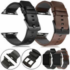 Genuine Leather Band Strap For Apple Watch Series 5 4 3 2 1 38/42/40/44mm  image