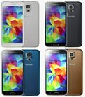 Samsung Galaxy S5 G900a 16gb Black Gold White At&t Gsm Unlocked High Screen Burn
