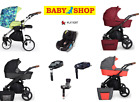Stroller Kunert Rotax 4 in 1 Carry Cot Sport Seat Car Seat Adapters Pram for sale  Shipping to South Africa
