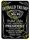TRUMP OLD NO.45 Brand Cool Pro Trump Vinyl Sticker Decal  *Made In USA*