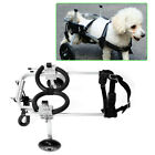 Pet/Dog Wheelchair Fit Handicapped Small/ Medium Dog Pet Move Assistant Tool New for sale  USA