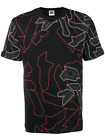 LES HOMMES URBAN abstract graphic print T-shirt DEFECT