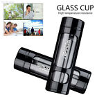A3EA Double-Deck Water Bottle Water Cup Glass Fruit Juice Protable Water Glass