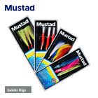 Mustad Sabiki Sea Fishing Rigs - Cod Bass Pollock Mackerel Herring Sardines