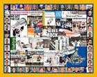 ST. Louis Blues Stanley Cup Mosaic Newspaper Collage Print Art