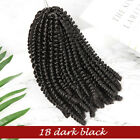 "Short 8"" Spring Twist Afro Briading Hair Extension Passion Twists Curly Wavy v5"