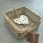Wicker Rattan Rustic Napkin / Serviette Holder Chic Home Decor Gift