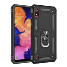 For Samsung Galaxy A10 A10e A20 A30 A50Shockproof Armor Case+Magnetic Ring Stand