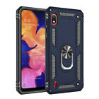 For Samsung Galaxy A10e A20 A50 Case Shockproof Armor Stand Cover+Tempered Glass