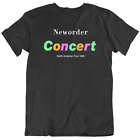 Shirts Tees New Order Concert North American Tour 1989 Men's T Shirt S-3XL  image