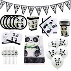 CUTE PANDA BEAR theme bamboo PARTY BALLOON DECORATION SUPPLIES FAVOR