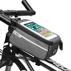 Cycling Bike Bicycle Front Frame Pannier Tube Bag For Mobile Phone Accessories