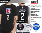 Kawhi Leonard Los Angeles Clippers 2 NBA Jersey Inspired Mens Graphic T