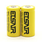 2800mAh 16340 CR123A Rechargeable Battery Smart Universal 4 slots Charger