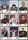 1961 Fleer Football Cards - Complete Your Set ** YOU PICK ** UPDATED in AUGUST on eBay