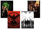 Marvel Comics: Agents of Shield T.V Series  A5 A4 A3 Textless Posters