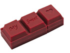 Sweetheart chocolate creative pen drive memory stick pendrive usb flash drive