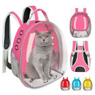 Dog Cat Carrier Bag Backpack Space Capsule Pet Puppy Breathable Travel Bag Crate