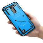 For LG K7/Tribute 5/Phoenix 2 Hybrid Rugged Armor Case Cover+Screen Protector