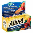 Alive! Mens Energy Multi-Vitamin Multi-Mineral Once Daily Tablets 50ct Box 07/20 $7.99 USD on eBay