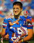 Tim Tebow FL Florida Gators QB Quarterback Art 3 8x10 - 48x36