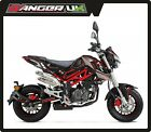 BENELLI TNT 125 MOTORBIKE GRAPHICS DECALS STICKERS - VARIOUS COLOURS & DESIGNS