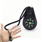 Portable Compass Brunton Camping Hiking Hunting Outdoor Sport Keychain Ring JKU