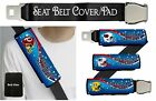AMERICAN FOOTBALL TEAM CAR SEAT BELT COVER/PAD SINGLE OR PAIR $10.47 USD on eBay