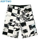 Hot Men's Quick-Dry Beach Pants Boardshorts Surf Shorts Board Swim Trunks 30-44