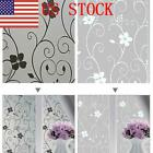 US Frosted Glass Privacy Screen Doors Window Static Cling Cover Self Adhesive EM