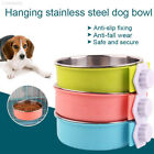 A933 Plastic Bowl Cage Bowl Dog Feeder Pet Bowl Dogs Multipurpose