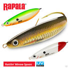 Rapala Rattlin' Minnow Spoon Lures - Pike Perch Chub Bass Pollock Fishing Tackle