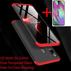 For Samsung Galaxy A10s A20s A30 A50 Shockproof Slim Case Cover+Tempered Glass